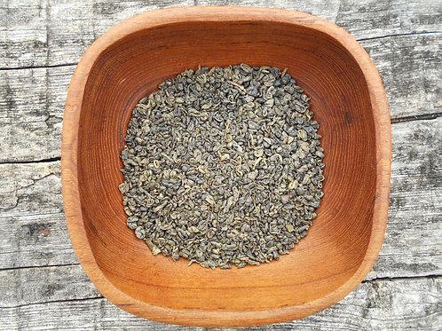 2873-Bulk Gunpowder Green Tea, Organic, 1 lb.