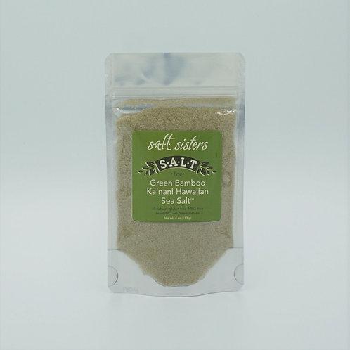 Green Bamboo Ka'nani Hawaiian Sea Salt