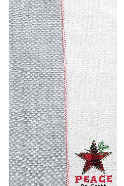 Farmhouse Star Tea Towel