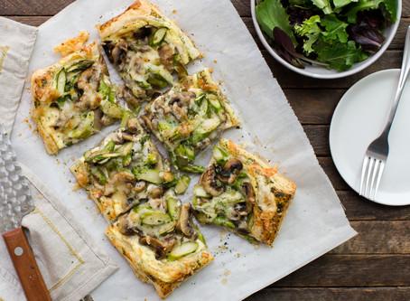 Asparagus Mushroom Tart