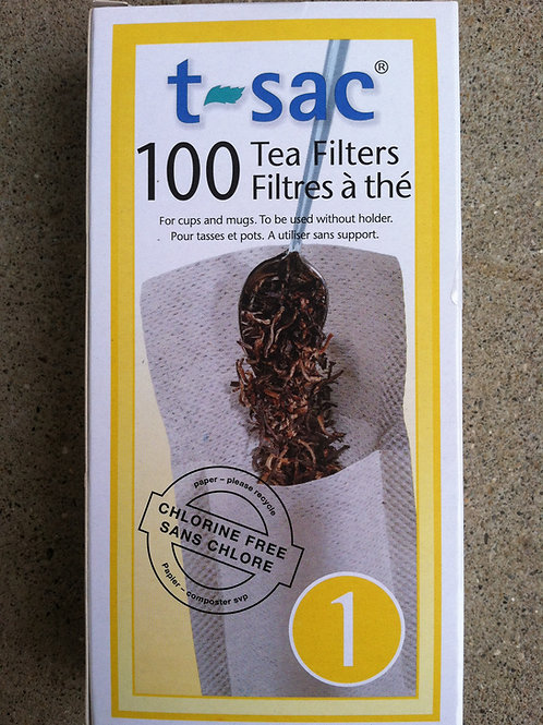 T-Sac Tea Filters, #1