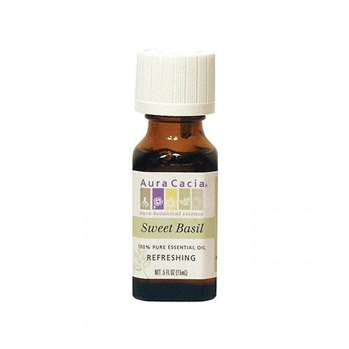 Basil, Sweet Essential Oil, 0.5 fl. oz.