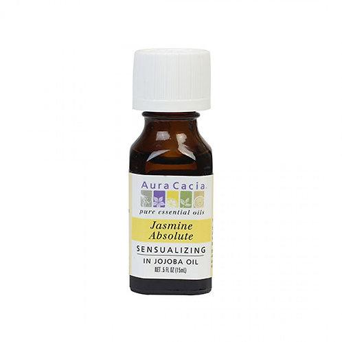 Jasmine Absolute(in Jojoba Oil), 0.5 fl.oz.