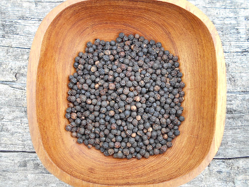 2955-Bulk Peppercorns,Black Whole,Org., 1 lb.