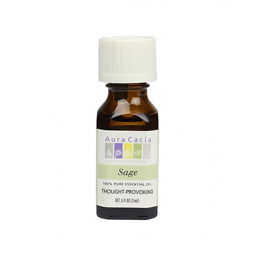 Sage Essential Oil, 0.5 fl.oz.