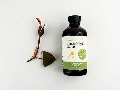 Sprigs Honey Herbal Syrup, 8 fl. oz.