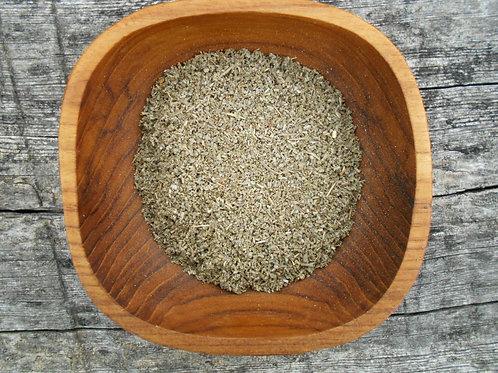 236-Bulk Sage Leaf, Rubbed, Organic, 1 lb.