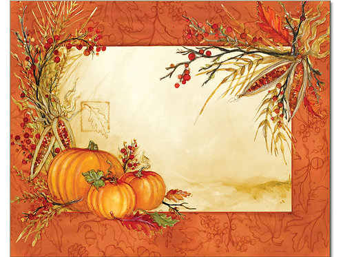 Autumn Array Cutting Board