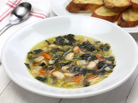 All About Bay + Tuscan Bean Soup