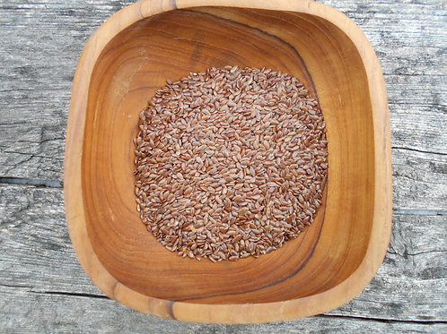 563-Bulk Flax Seed, Whole, Organic, 1 lb.