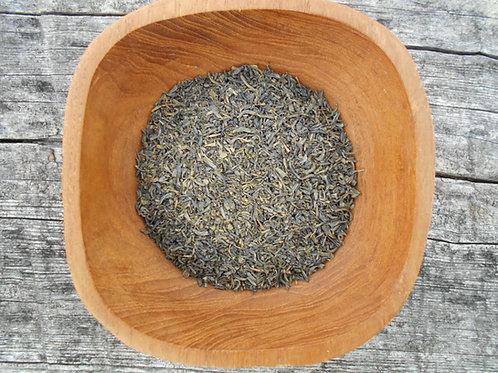 1079-Bulk Jasmine Tea, Green, Organic, 1 lb.