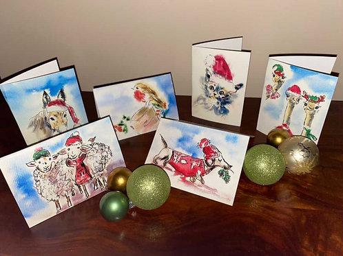 Judy Fishel Christmas Cards