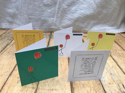 SolidariTee Greetings Cards