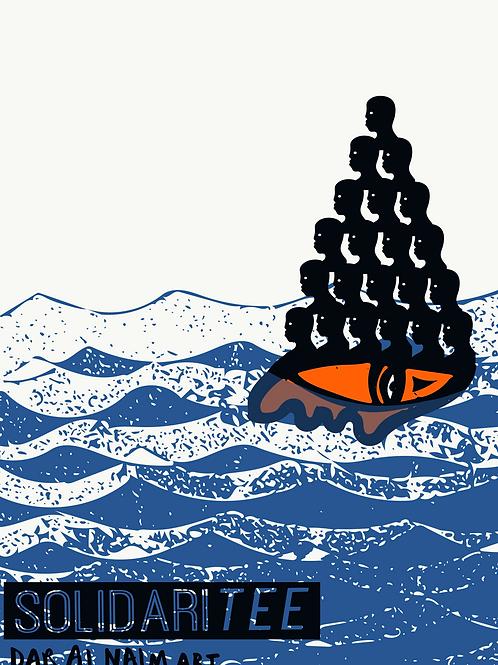 SolidariTee x Dar Al Naim - Linen Print