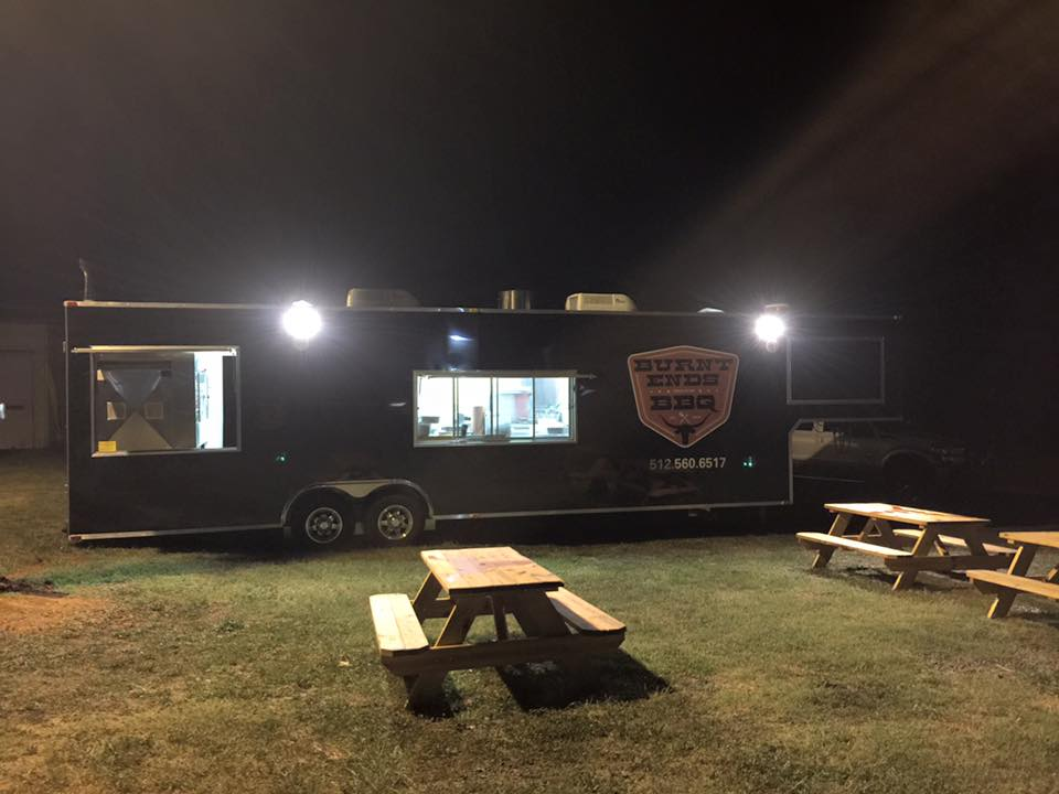 trailer at night