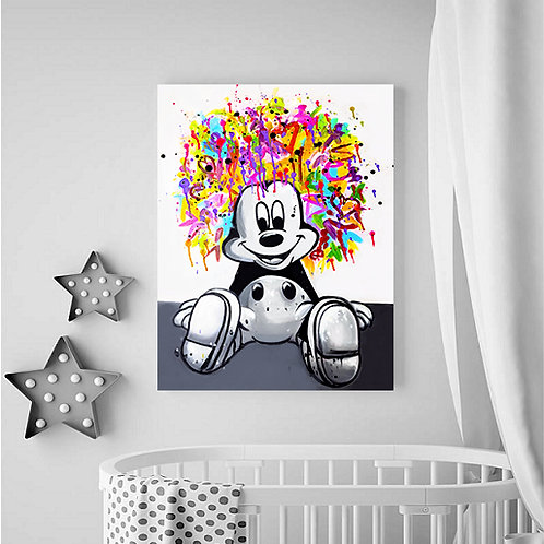 Mickey graffiti 1