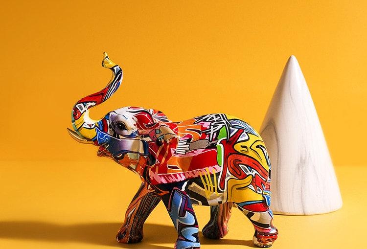 Moderne statue Eléphant