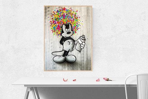 Mickey graffiti 2