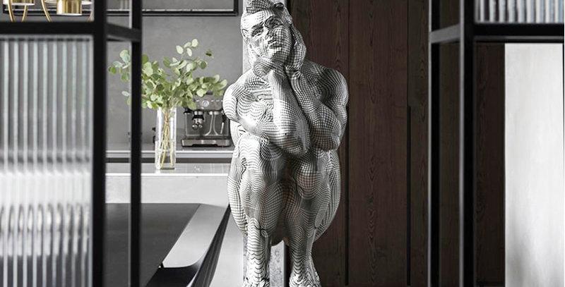 Moderne Statue le penseur