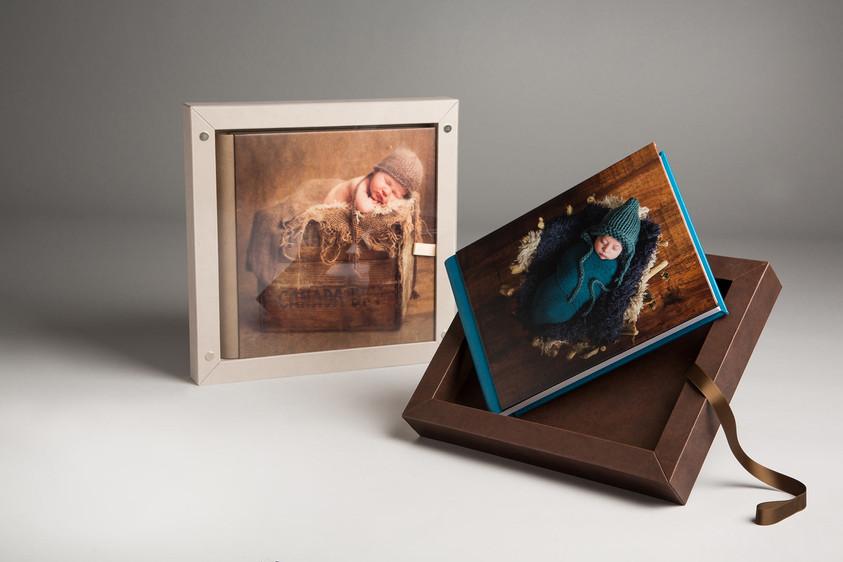 frame book