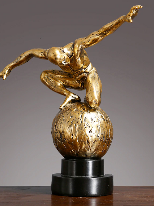 Plongeur style bronze