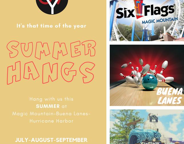 Youth Summer Hangs