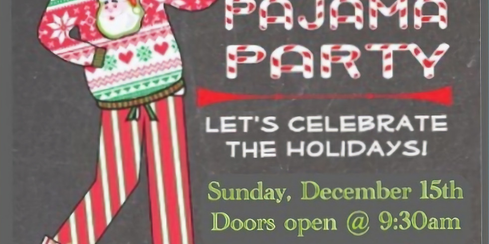 KIDSLAND CHRISTMAS PAJAMA PARTY