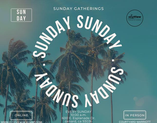 Sunday Gatherings in July