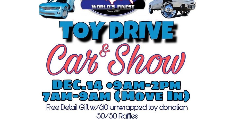 Toy Drive and Car Show