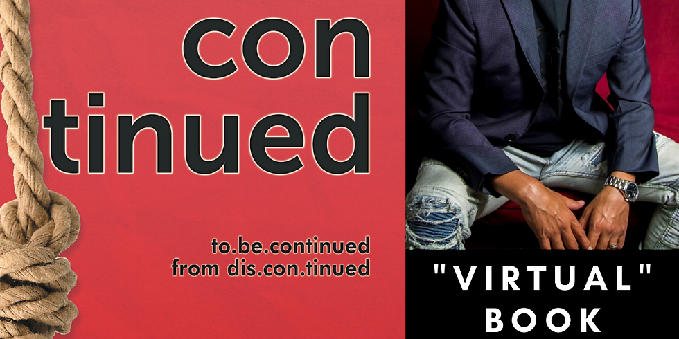 to.be.continued - Virtual Book Release Party