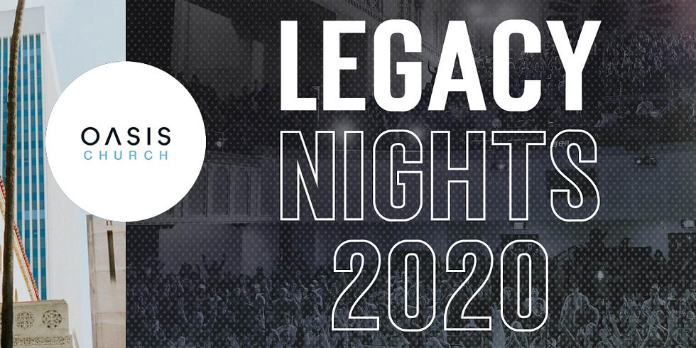 Legacy Nights at Oasis LA
