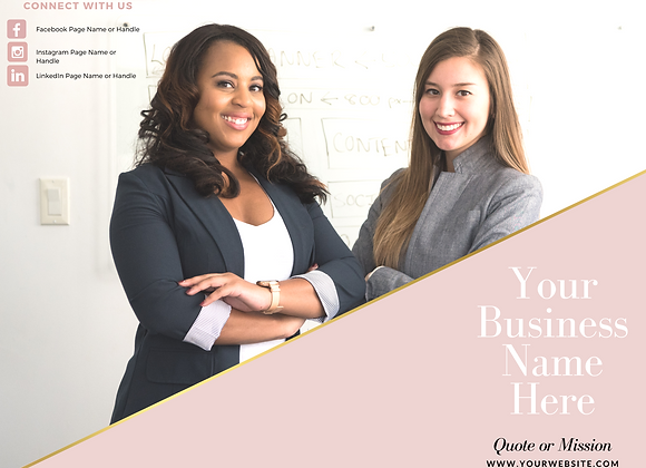 Promotional Brochure (Pink)