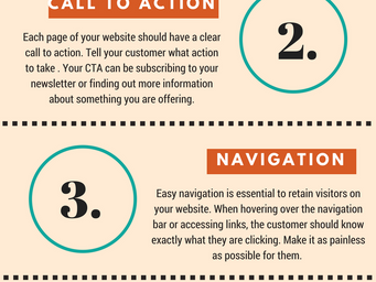 5 Things Your Website Needs (Infographic)