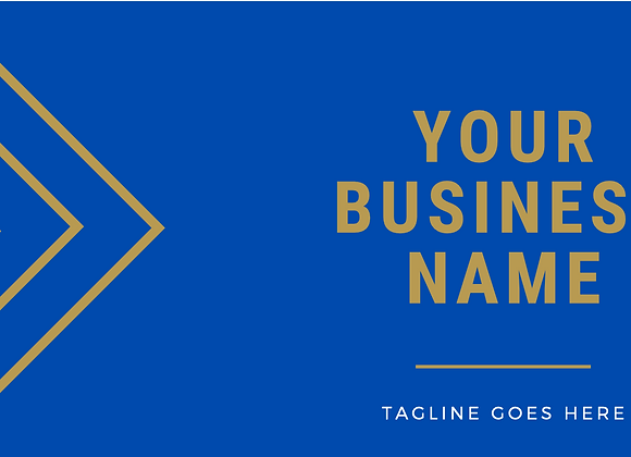Royal Blue Business Cards
