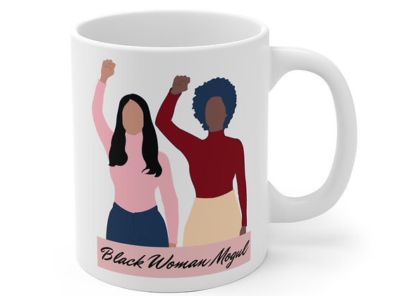 Black Woman Mogul Mug (Multi)