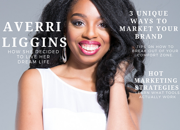 Interview Feature + Cover Design