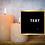 Thumbnail: Social Media Post Templates (Black & Gold)