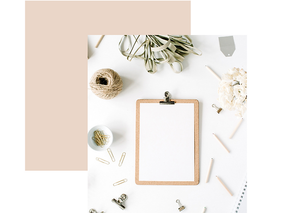 Beige & Pink Instagram Post Template