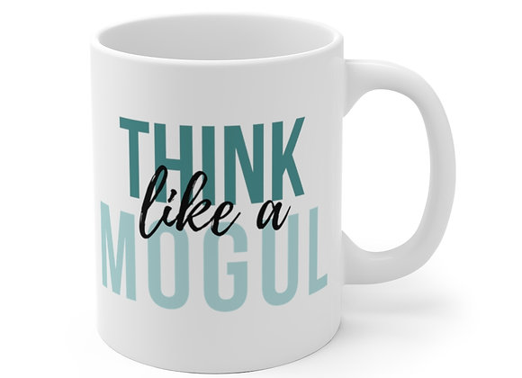 Think Like a Mogul Mug (Teal)