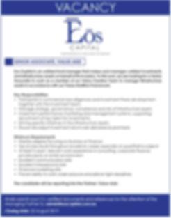 Eos_Vacancies SeniorAsscociate(19x4)Augu