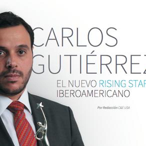 CARLOS GUTIÉRREZ, LE BLACK ROOM. EL NUEVO RISING STAR IBEROAMERICANO