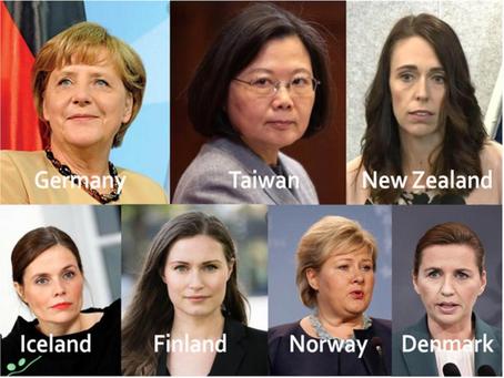 ¿Qué tienen en común los países con las mejores respuestas de coronavirus? Mujeres líderes