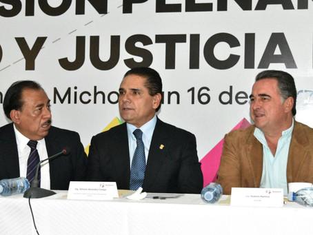 ANUNCIA SILVANO AUREOLES FORTALECIMIENTO A LA ESTRATEGIA DE SEGURIDAD