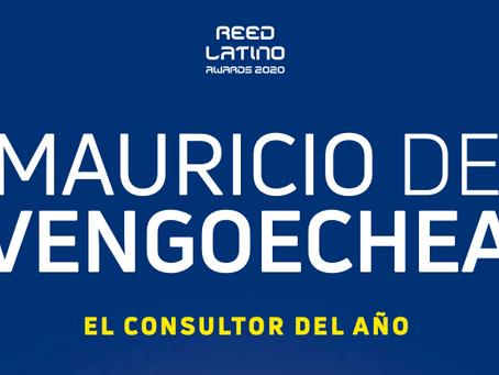 Mauricio de Vengoechea. El Consultor del Año Reed Latino 2020