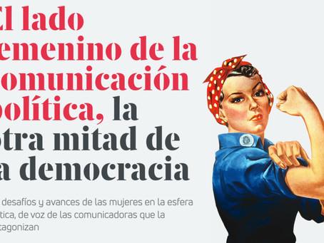 El lado femenino de la comunicación política, la otra mitad de la democracia