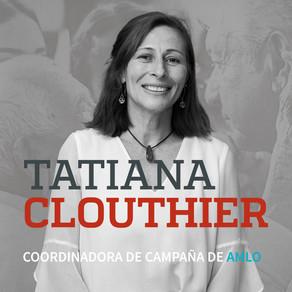 TATIANA CLOUTHIER COORDINADORA DE CAMPAÑA DE AMLO