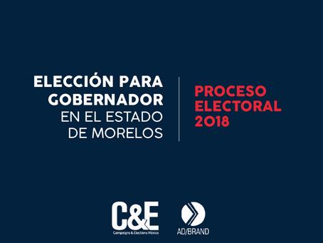 Encuesta Elección para Gobernador Estado de Morelos. 2018