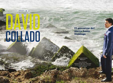DAVID COLLADO.El precursor del nuevo Santo Domingo
