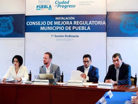 EL PRESIDENTE MUNICIPAL LUIS BANCK ENCABEZÓ LA PRIMERA SESIÓN DEL CONSEJO DE MEJORA REGULATORIA