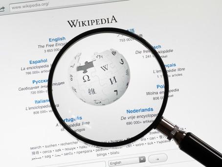 Las campañas y los grupos ignoran wikipedia bajo su propio riesgo